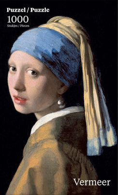 Puzzle Puzzelman- Vermeer Johannes: Girl with the Pearl. 1000 piezas-Puzzle-Puzzelman-Doctor Panush