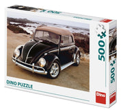 Puzzle Dino - VW Beetle on Beach. 500 piezas