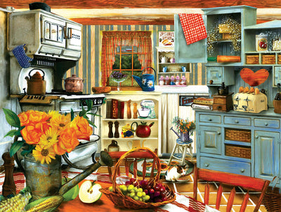 Puzzle SunsOut - Grandma´s Country Kitchen. 300 piezas XXL-SunsOut-Doctor Panush