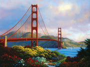 Puzzle SunsOut - Morning at the Golden Gate. 300 piezas XXL