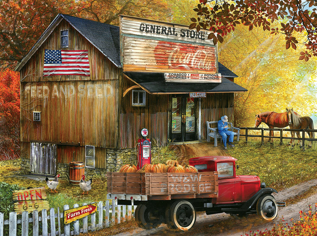 Puzzle SunsOut - Seed and Feed General Store. 300 piezas XXL