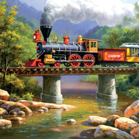 Puzzle SunsOut - The Lexington Express. 300 piezas XXL-SunsOut-Doctor Panush