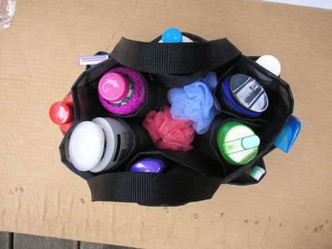 Custom Mesh Shower Caddy 12 pockets In Your Colors