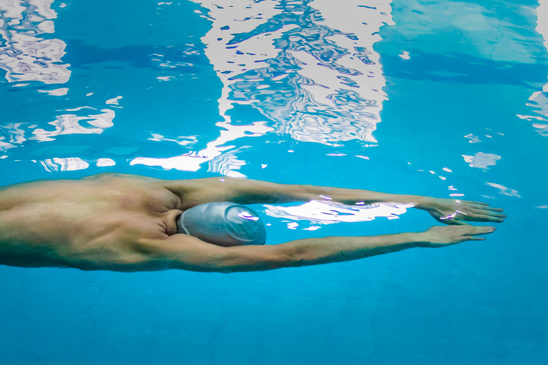Swimming class for intermediates