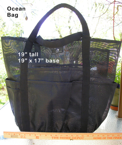 Custom Ocean Bag in your colors (HUGE)