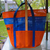 Custom Ocean Bag with zipper