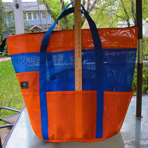 Ocean Bag with zipper in your colors
