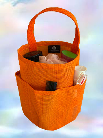 Mesh Shower Bag * Orange