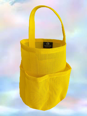 Mesh Shower Bag * Lemony Yellow