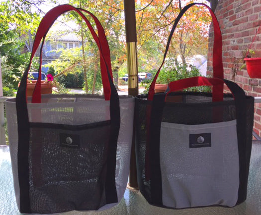 2 Salt & Pepper Shopping Bags