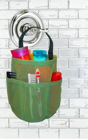 Mesh Shower Bag * Sage * Imported
