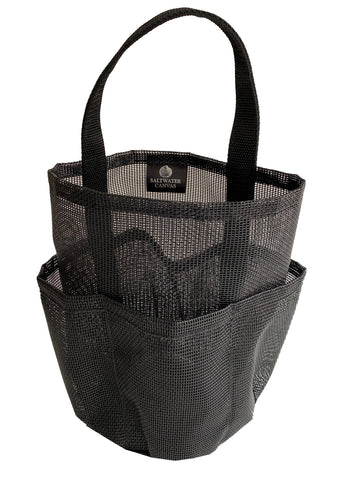 Mesh Shower Bag * Black