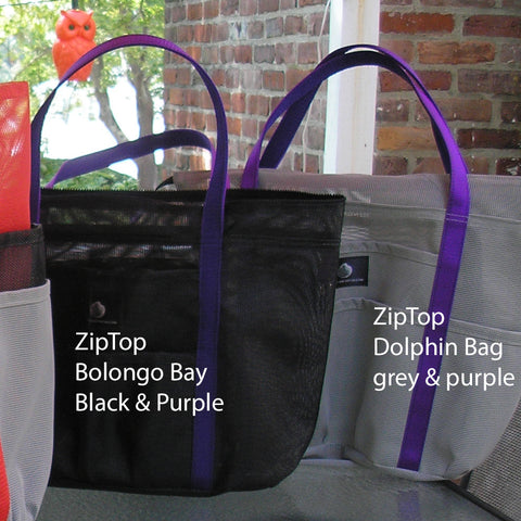 ZipTop Dolphin Bags * In your Colors