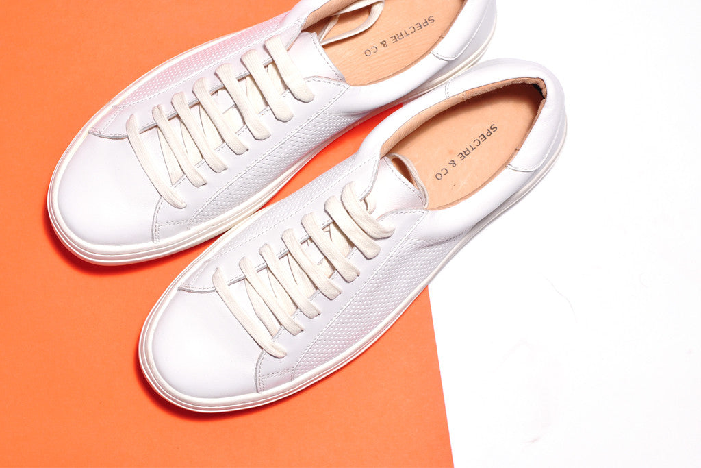 Spectre & Co. White Sneakers