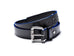 Black Accent Belt (Blue)