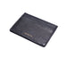 Black Italian Leather Cardholder
