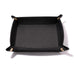 Black Italian Leather Valet Tray