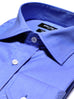 Slim Fit Blue Banker Dress Shirt