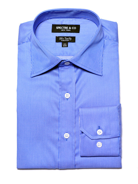 Blue Banker Dress Shirt