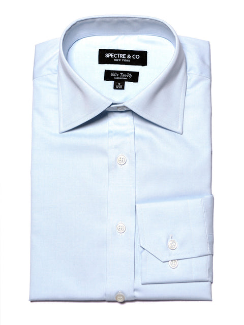 Slim Fit Blue Oxford Dress Shirt