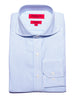 Washed Blue Stripe Oxford Cutaway Dress Shirt
