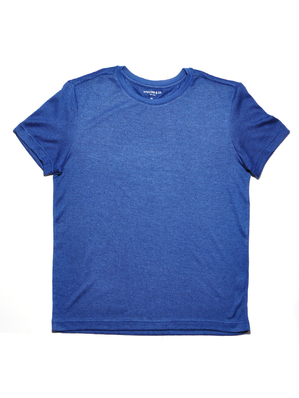 Blue Knit Tee Shirt