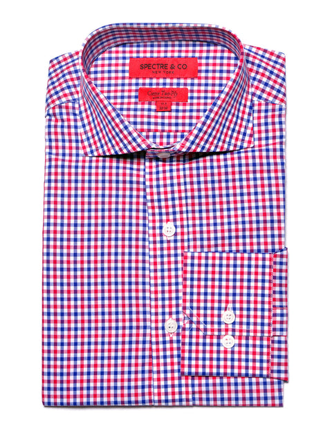 Slim Fit Bradley Gingham Dress Shirt