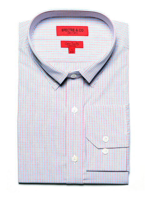 Slim Fit Bradley Tattersall Dress Shirt