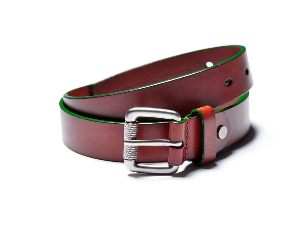 Brown Accent Belt (Green)