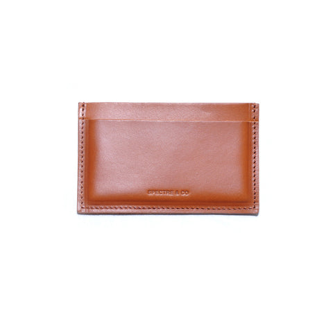 Brown Italian Leather Cardholder