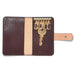 Brown Italian Leather Key Wallet