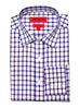 Ernest Check Semi-Spread Dress Shirt