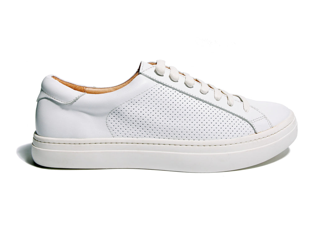 The Gaillard Sneaker - White