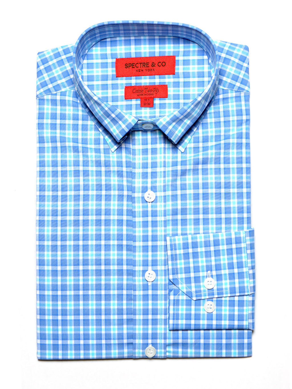 Garrett Tartan Dress Shirt