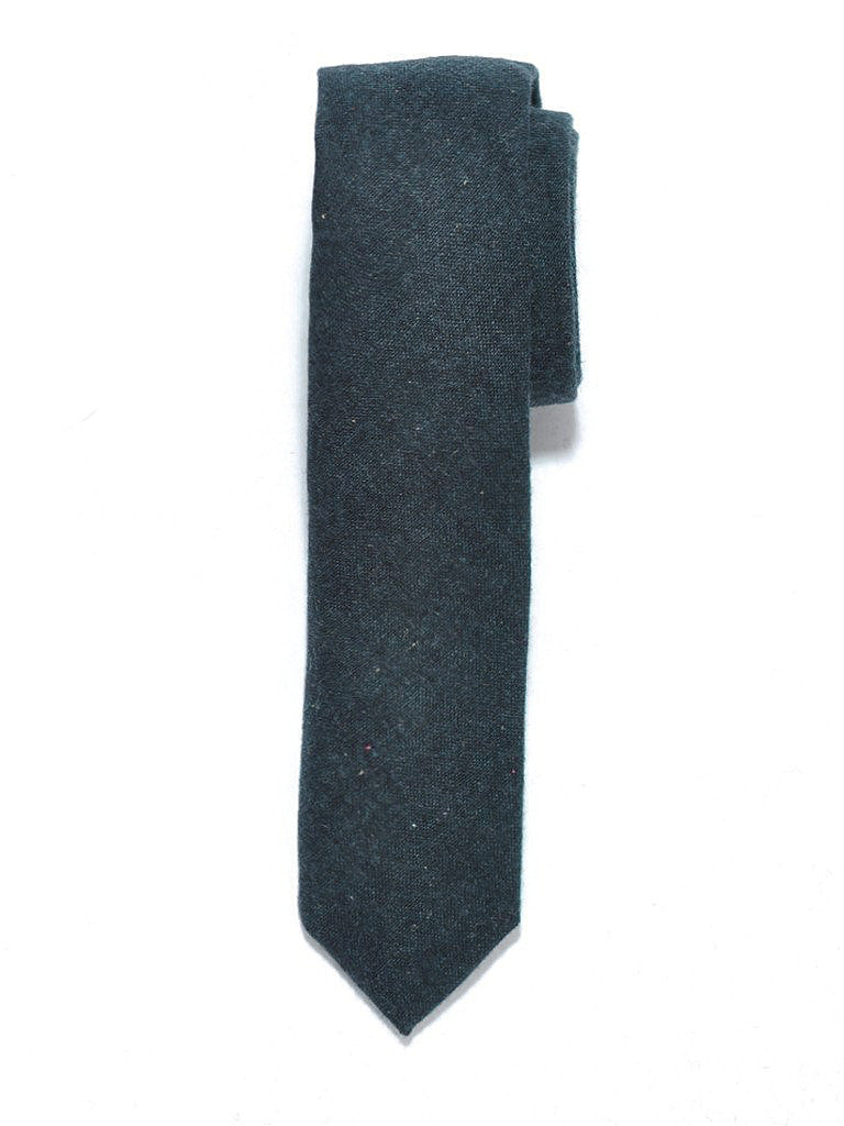 Green Speckled Wool Tie