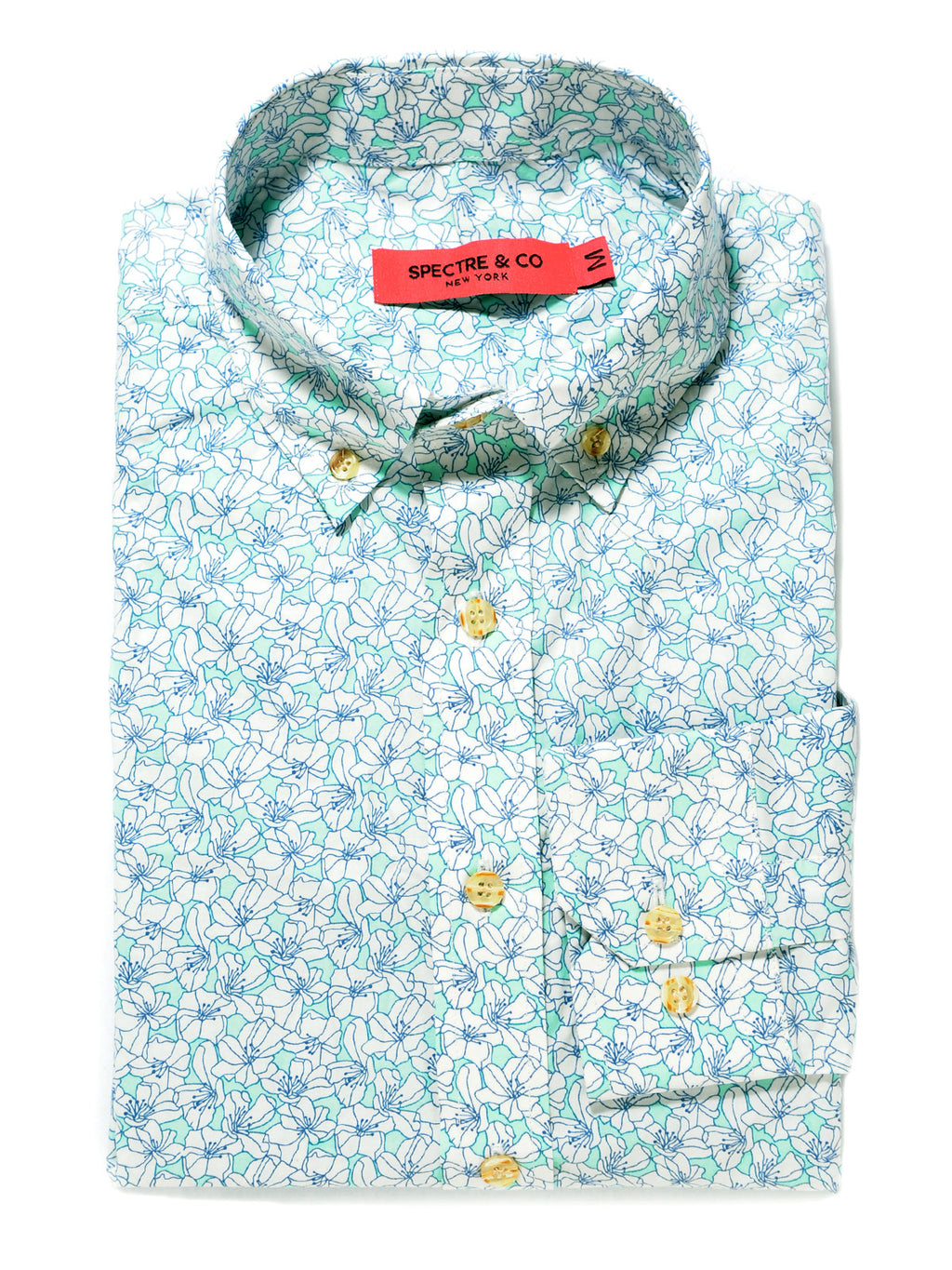 Light Floral Casual Shirt