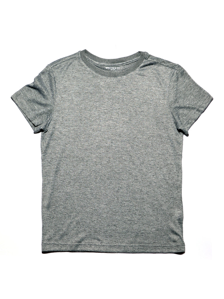 Light Grey Knit Tee Shirt