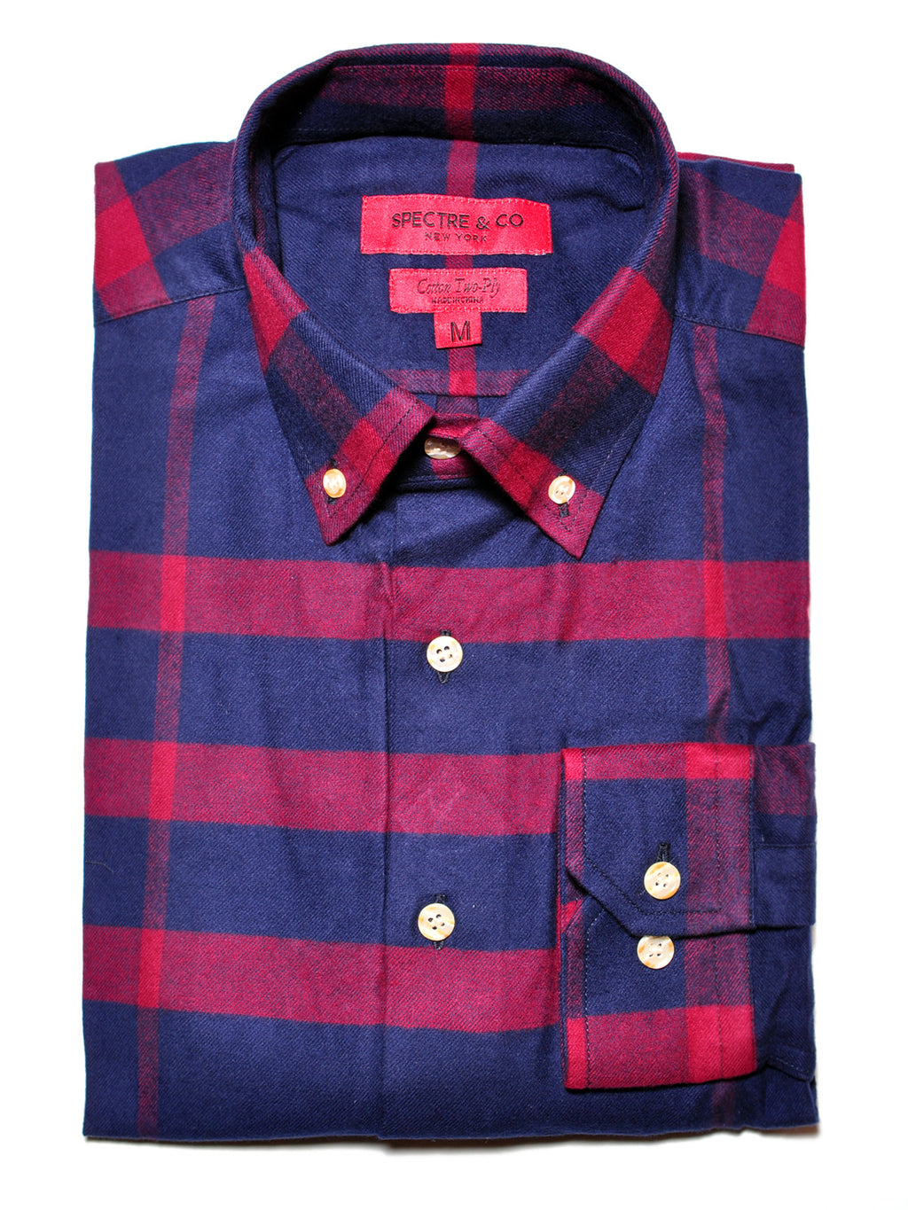 Lorimer Plaid Flannel Shirt