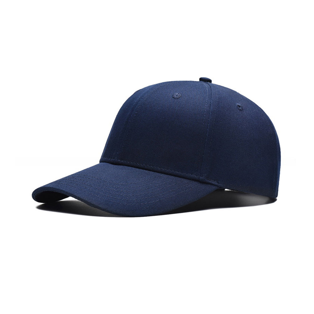 Navy Blue Cotton Twill Baseball Cap