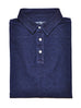 Navy Blue Knit Polo