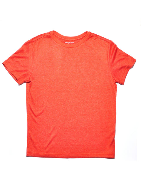 Orange Knit Tee Shirt