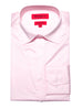 Pink Semi-spread Dress Shirt