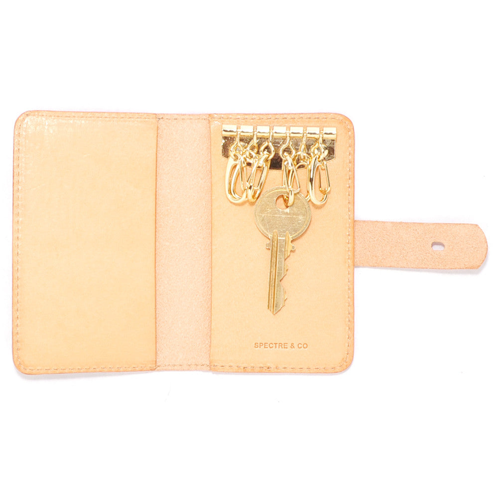 Raw Italian Leather Key Wallet