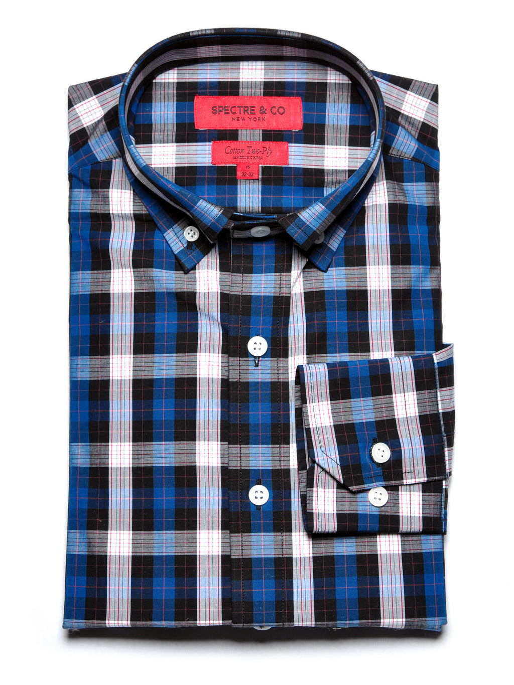 Reyes Tartan Dress Shirt
