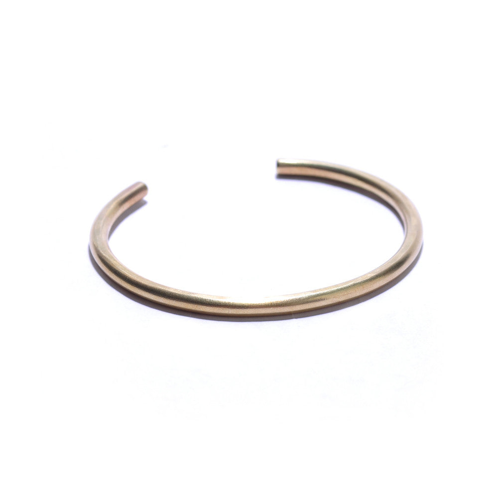 Simple Brass Cuff Bracelet