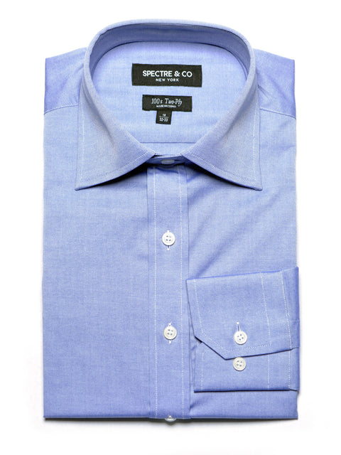 Slim Fit Slate Oxford Dress Shirt