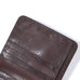 Brown Italian Leather Travel Wallet