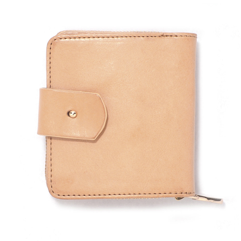 Raw Italian Leather Travel Wallet