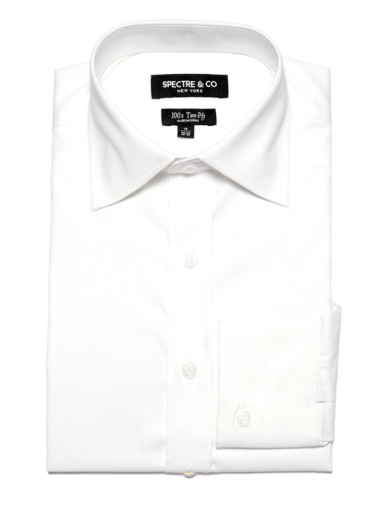 White French Cuff Dress Shirt