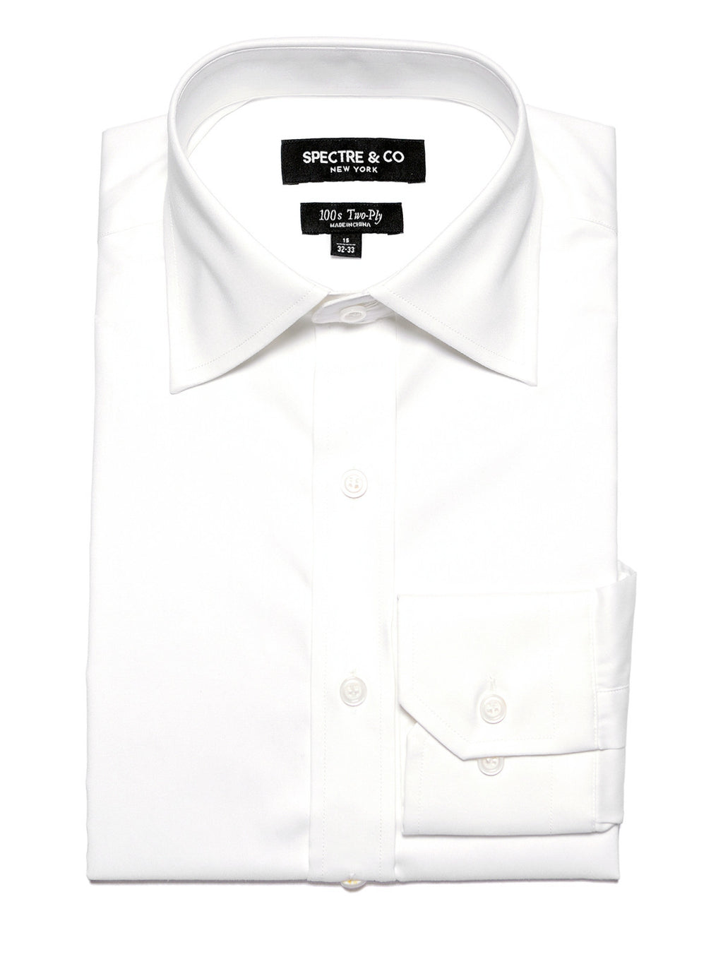White Oxford Dress Shirt